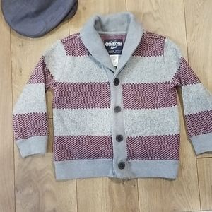 Oshkosh B'gosh Boys Striped Cardigan Sweater